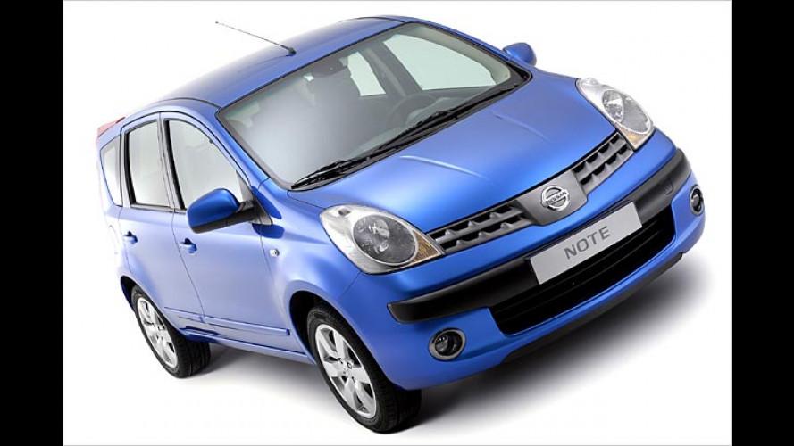Nissan Note: Die Preise beginnen bei 13.690 Euro