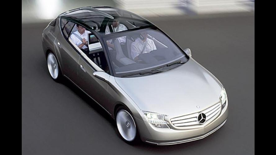 Mercedes F 500 Mind kombiniert V8-Diesel mit Elektroantrieb