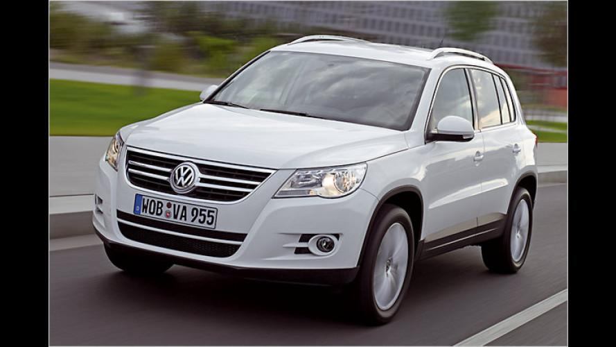 Test VW Tiguan: Ein Volkswagen zum Durchwühlen