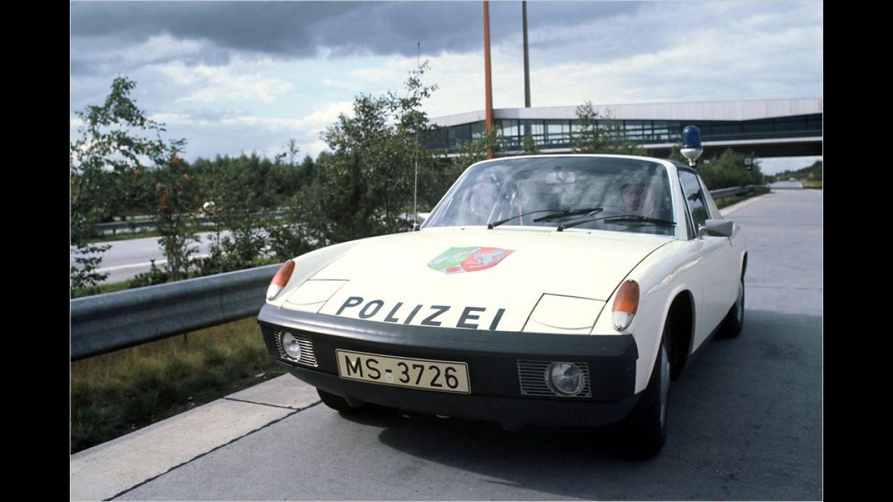 VW-Porsche im Einsatz