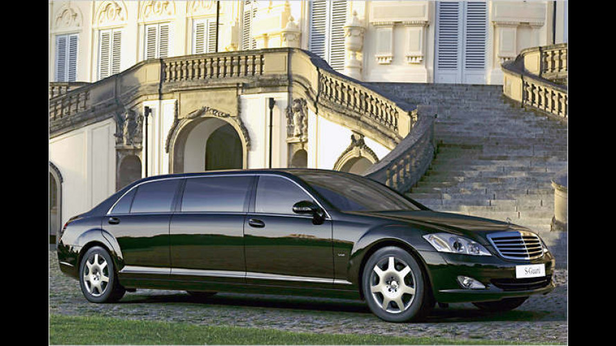 Für Könige und Präsidenten: Mercedes S 600 Guard Pullman