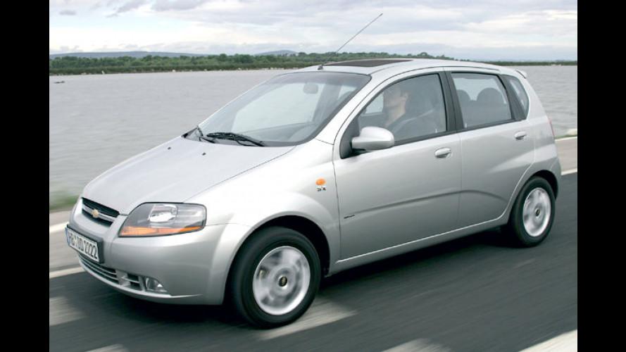 Lass die Sonne durch dein Dach: Chevrolet Kalos Sunshine