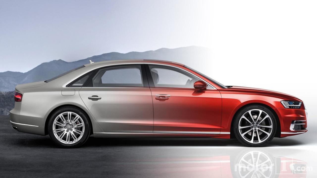 Audi A8 2017 vs Audi A8 2014