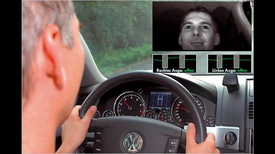 Neues Assistenzsystem von VW gegen Sekundenschlaf