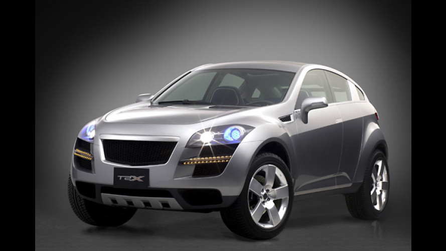 Chevrolet stellt SUV-Studie T2X und Kleinwagen Aveo vor
