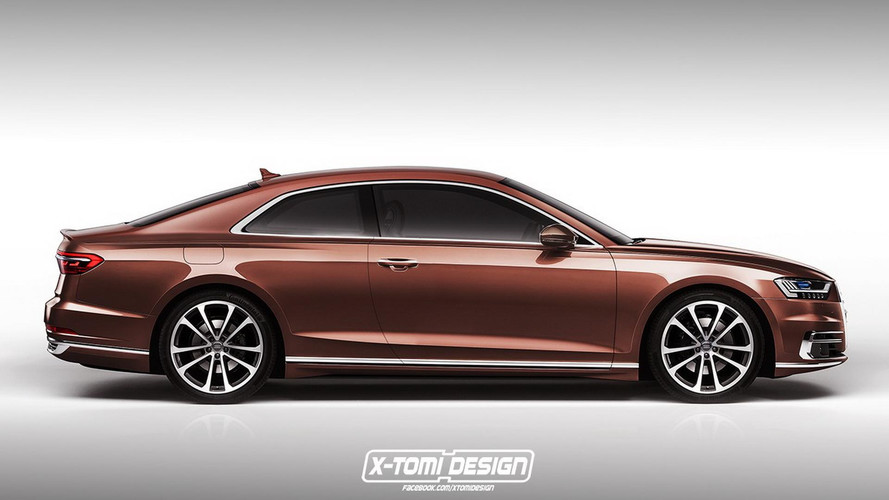 2018 Audi A8 Render Galore: Coupe, Avant, S8, RS8