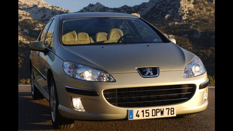 Peugeot 407 – mehr Diesel-Power dank Bi-Turbo