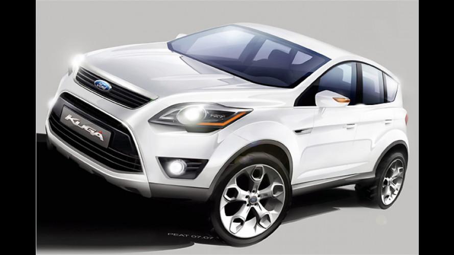 Ford Kuga: Crossover-SUV kommt 2008 auf den Markt