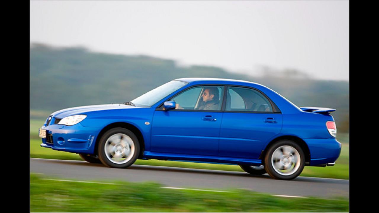 Impreza 2.0R RS im WRX-Rallye-Trimm