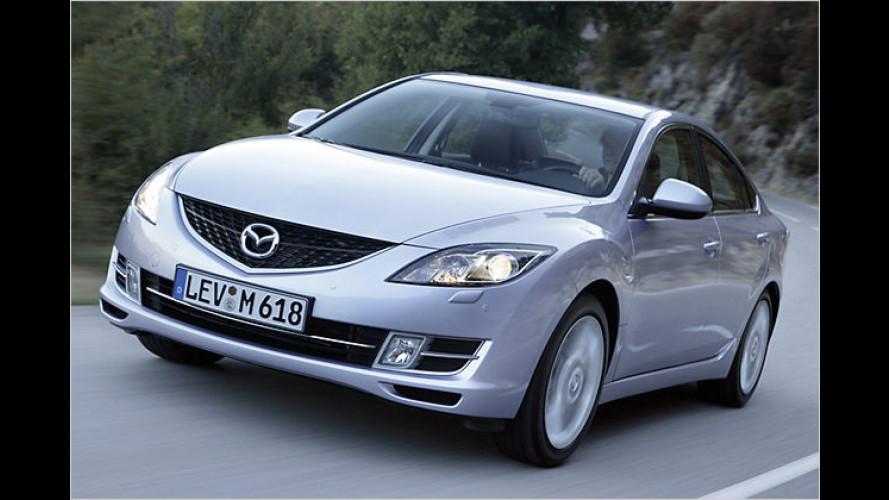 2,5 Liter für die ganze Familie: Mazda 6 im Test