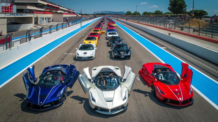Ferrari celebra su 70 aniversario en Paul Ricard
