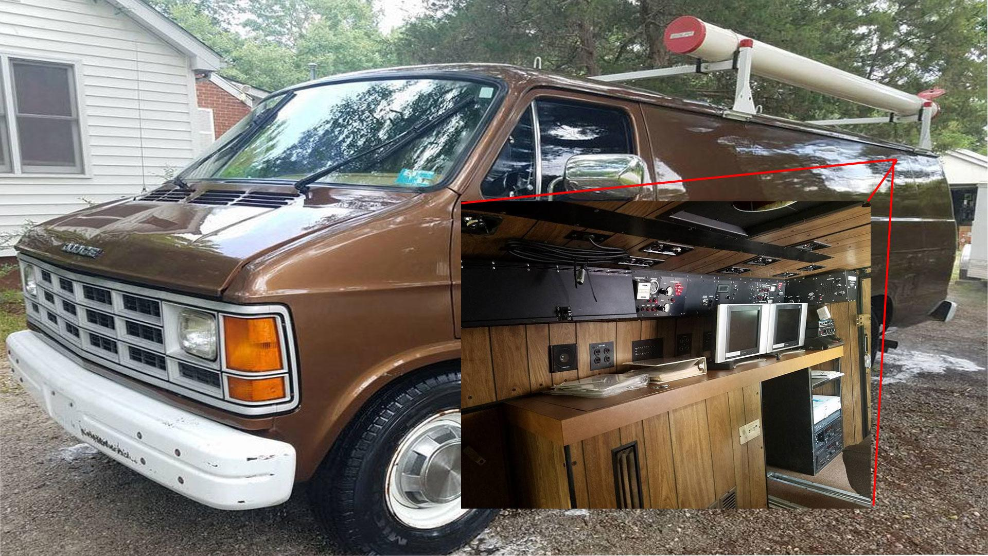 Buy This FBI Surveillance Van And Feel Like An Empowered G-Man 046d50f95