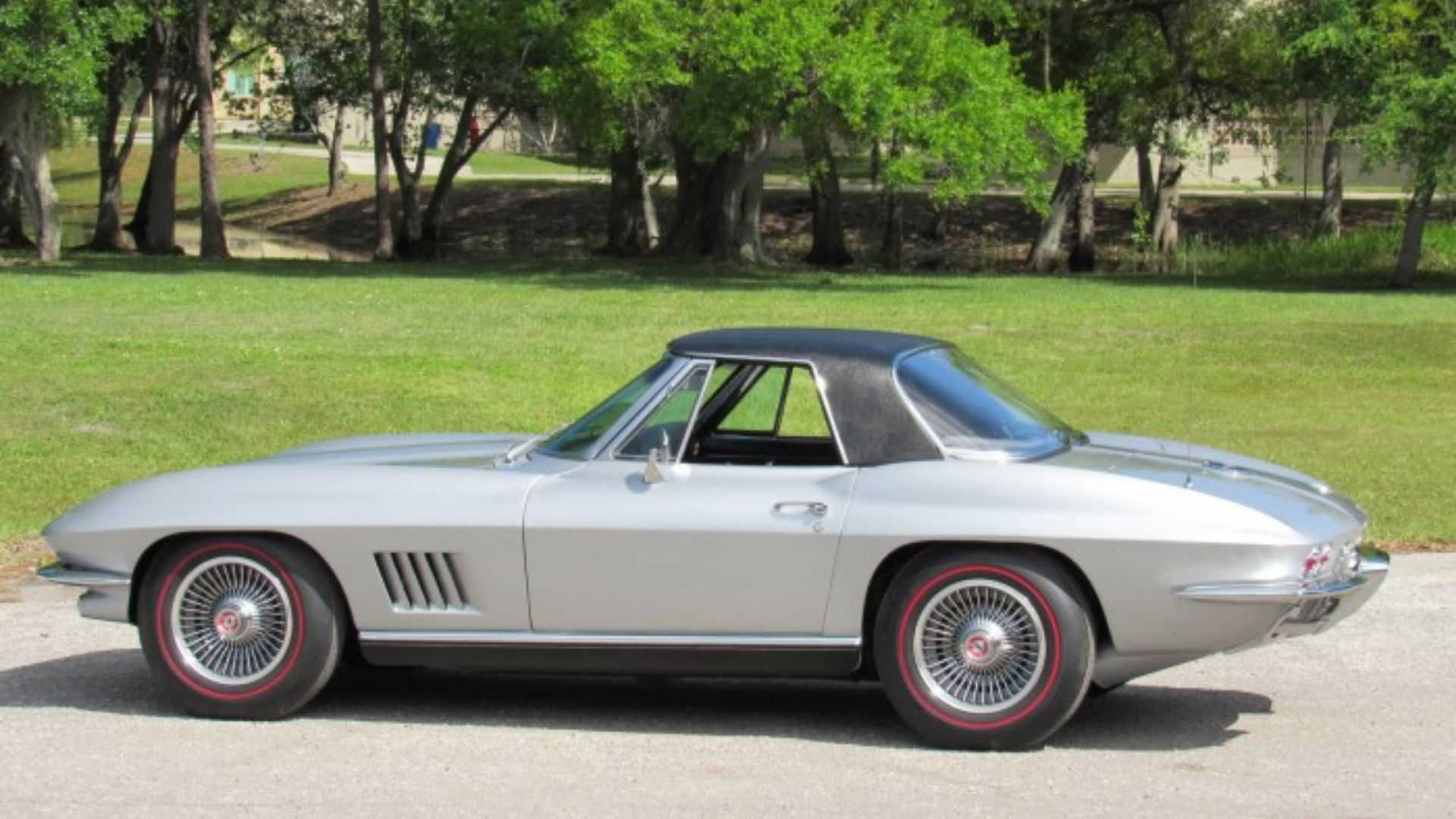 """[""""Step Up Your Game With A 1967 Chevy Corvette Convertible""""]"""