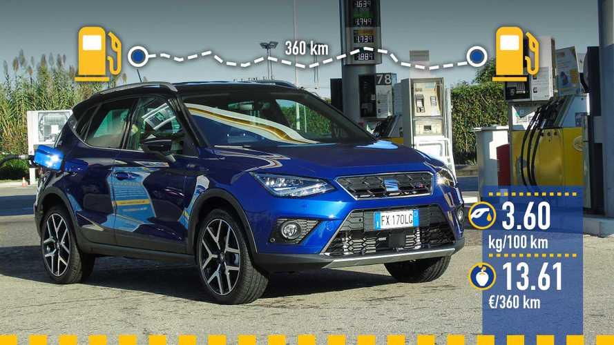 Seat Arona 1.0 TGI gaz naturel (GNV), le test de consommation réelle