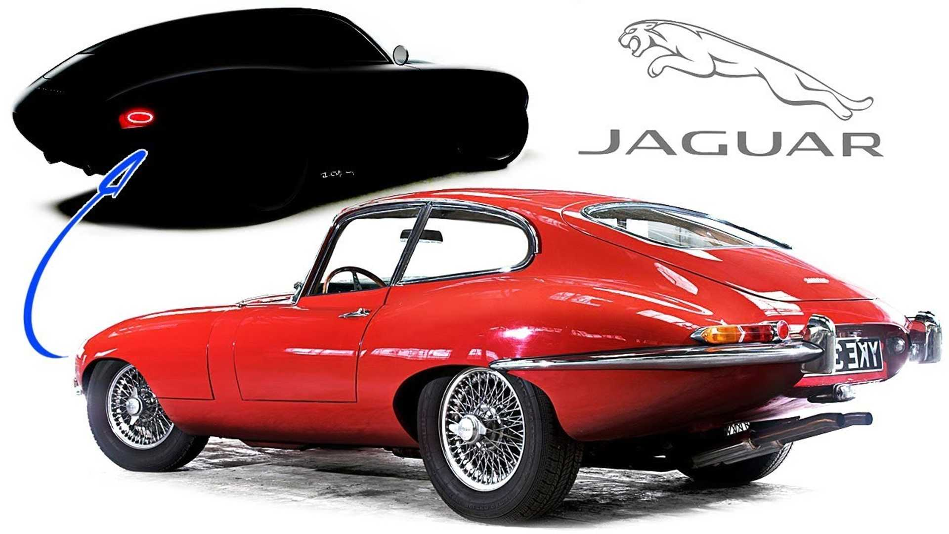 Someone had the courage to modernize the iconic Jaguar E-Type
