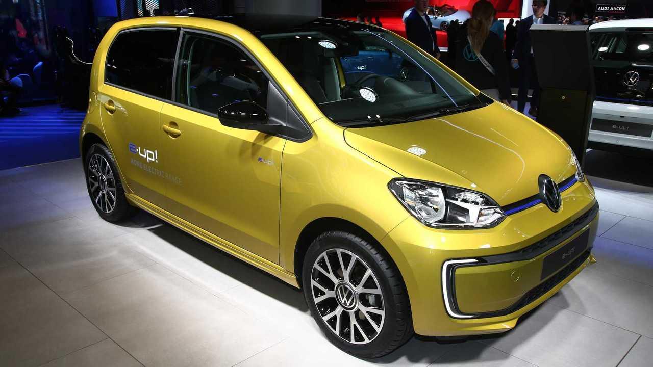 Volkswagen e-up! at the 2019 Frankfurt Motor Show