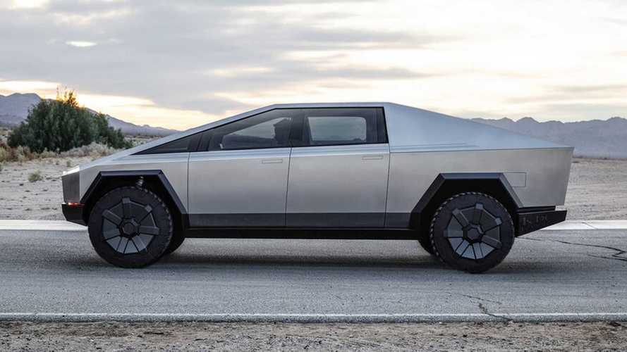 Tesla Cybertruck variant renders