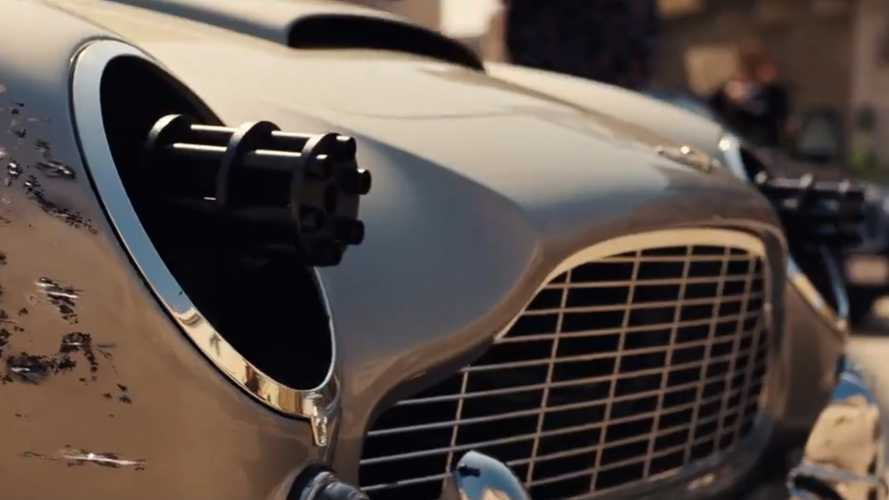 James Bond DB5 has new weaponry in No Time To Die