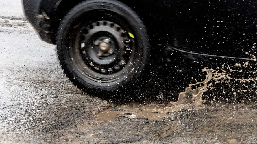 Nottinghamshire is the UK's pothole capital