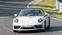 Porsche 911 GTS Cabriolet Spy Photos