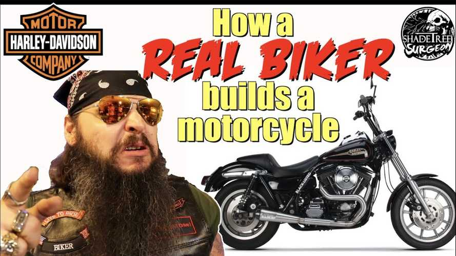"How A ""Real Biker"" Builds A Motorcycle"