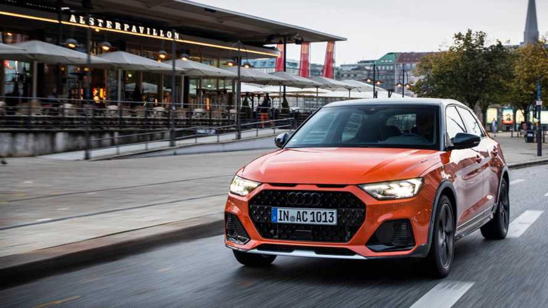 Audi A1 elétrico aparece em registro de patentes