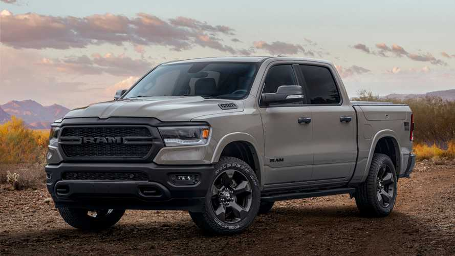 Ram Truck 1500 Built to serve, omaggio alla Forze Armate USA