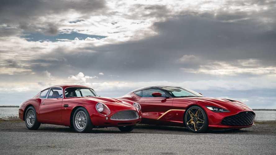 El Aston Martin DBS GT Zagato es un increíble coupé de aire retro