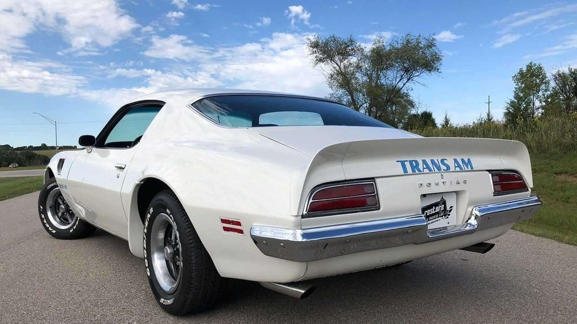 """[""""For Under $48K, Can This 1973 Pontiac Trans Am Steal Your Heart?""""]"""