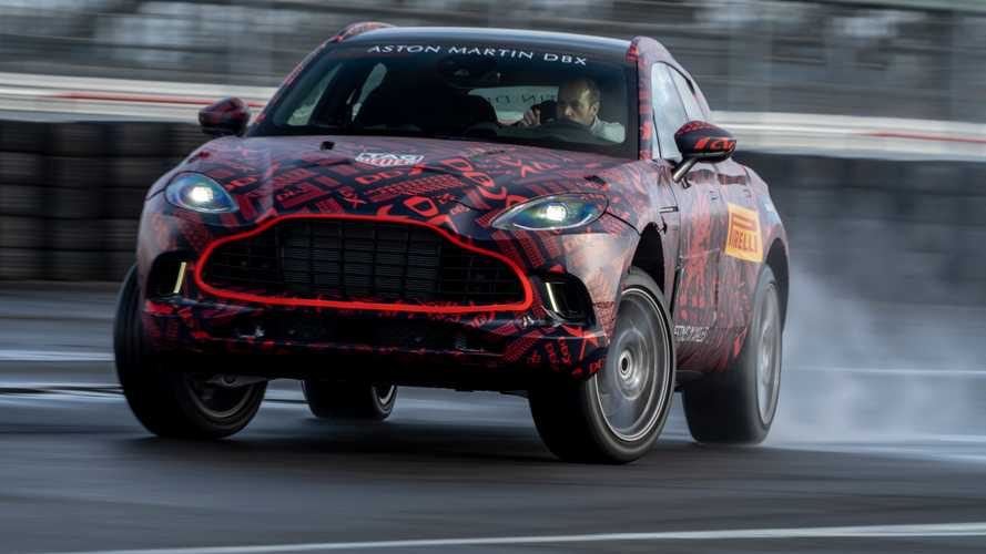 Aston Martin DBX Will Produce Nearly 550 HP From Its Twin-Turbo V8