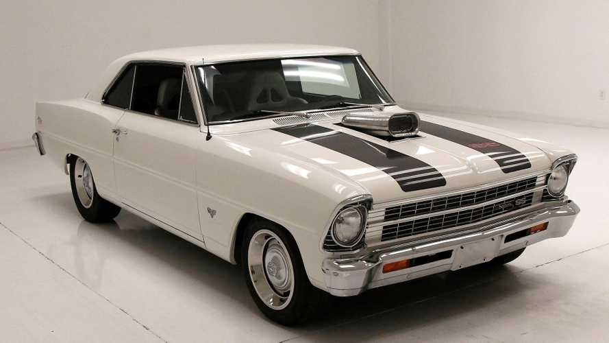Ermine White 1967 Chevy Nova Coupe Is Anything But Vanilla
