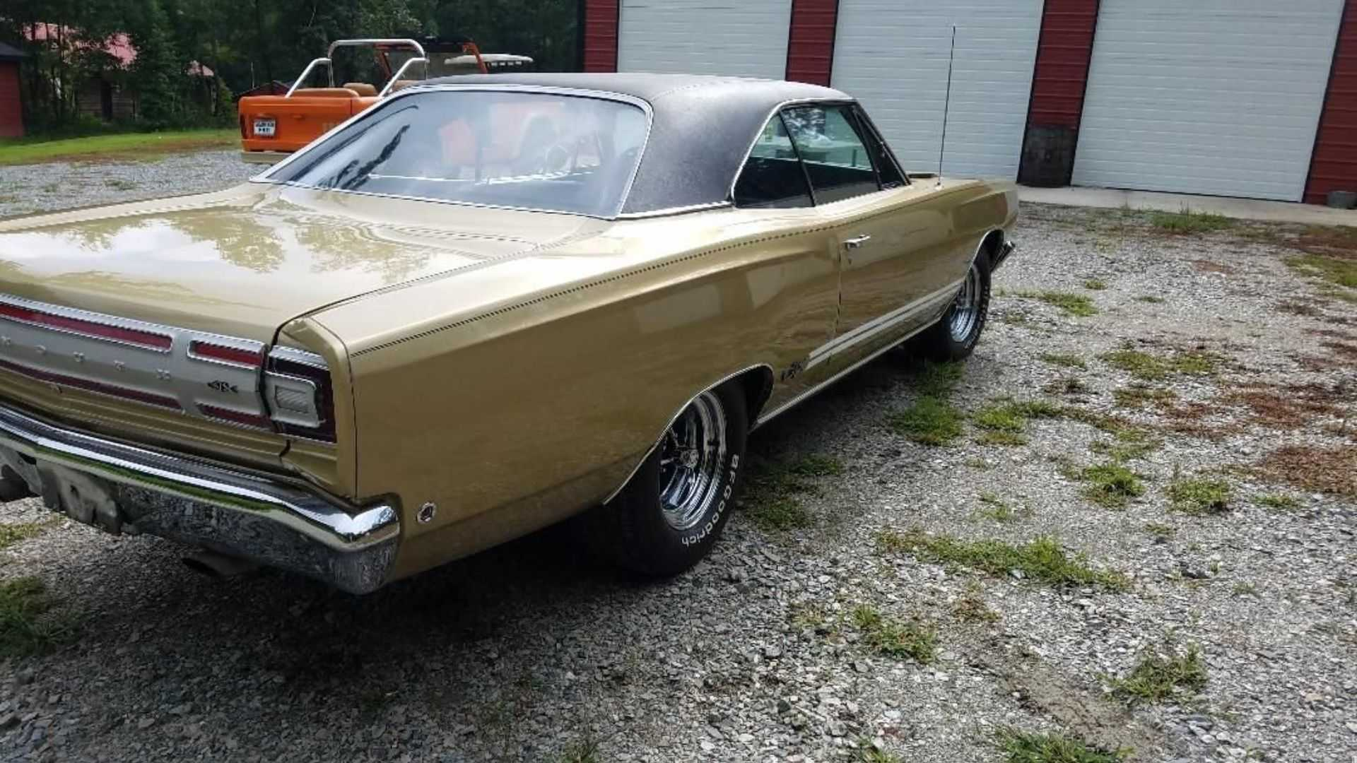 """[""""Live Free And Drive Harder With A 1968 Plymouth GTX""""]"""