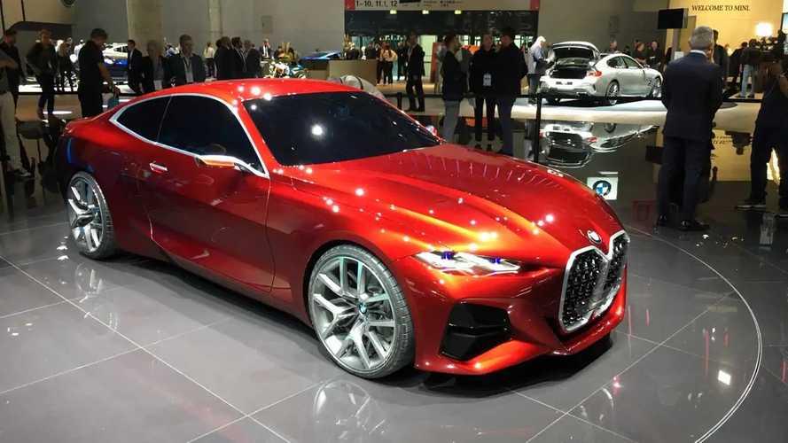 BMW Concept 4 dev ızgarasıyla tanıtıldı