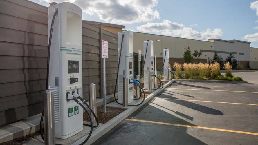 Electrify Canada charging infrastructure