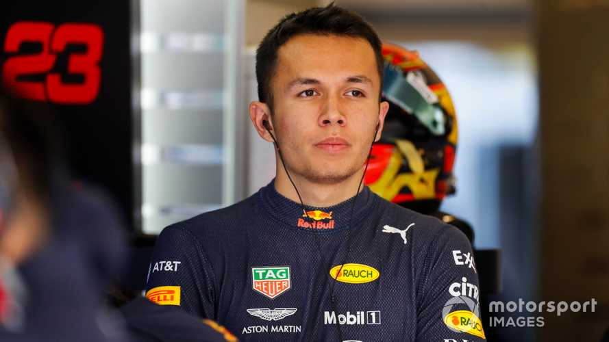 Albon to partner Verstappen at Red Bull in 2020