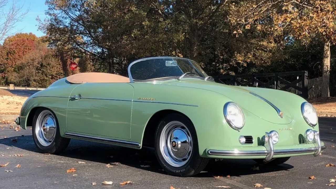 Look Sharp In A 1957 Porsche 356 Speedster Replica