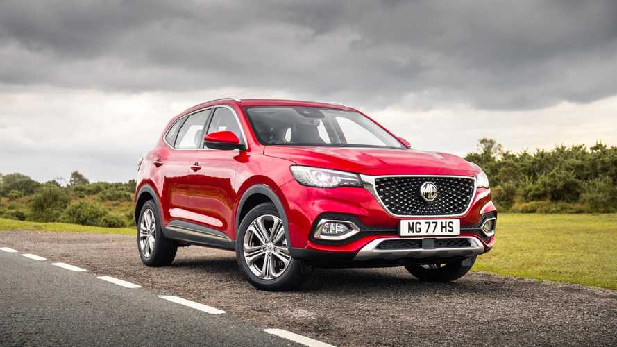 MG eHS plug-in hybrid SUV heading to UK in 2020