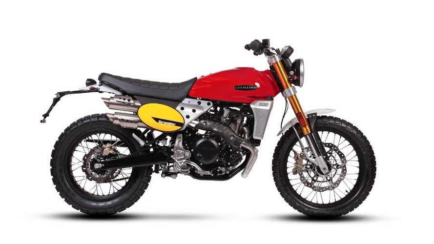 Fantic Motors Launches New Caballero Scramblers For Europe