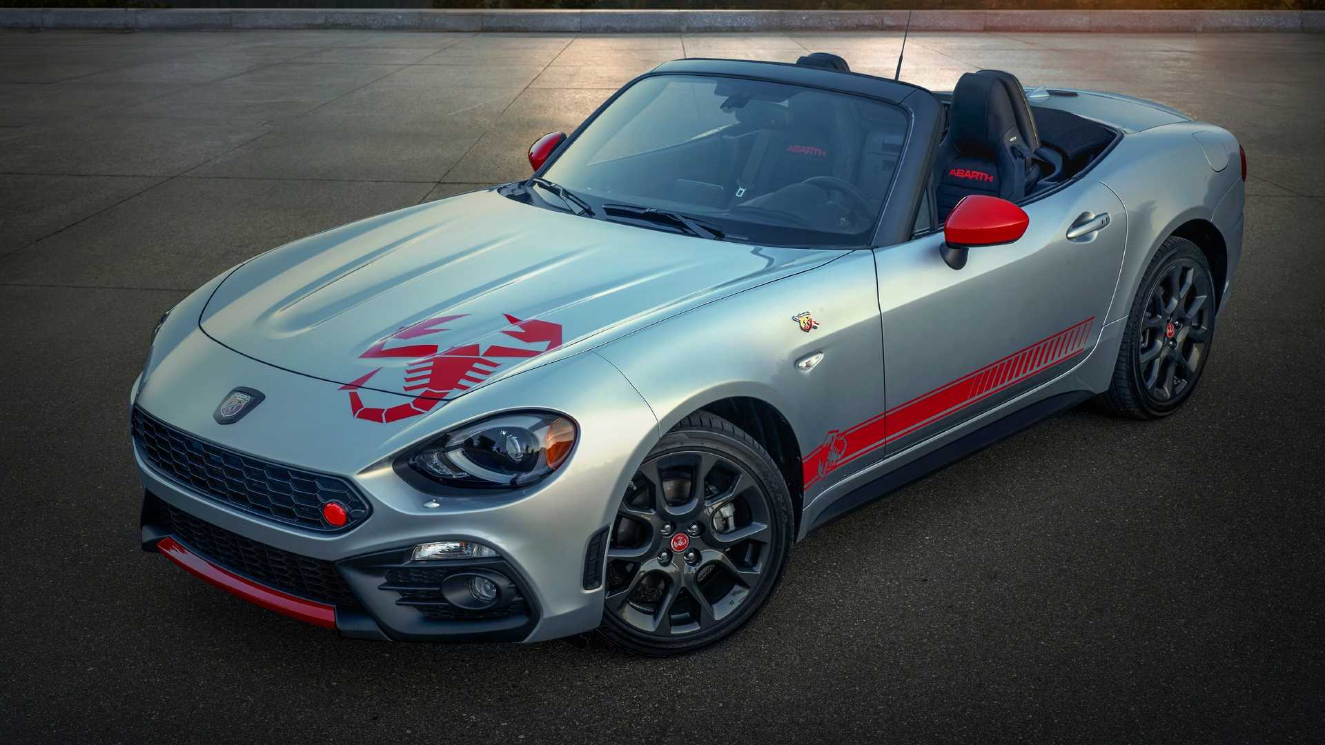 2020 Fiat 124 Abarth Adds Scorpion Sting Graphics Package