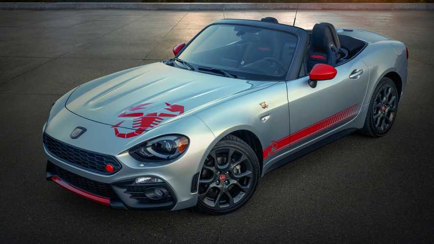 2020 Fiat 124 Abarth Adds 'Scorpion Sting' Graphics Package