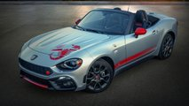 Fiat 124 Abarth With Scorpion Sting Graphics
