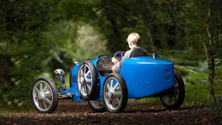 Bugatti çocuklar için hazırladığı elektrikli Baby II'yi tanıttı