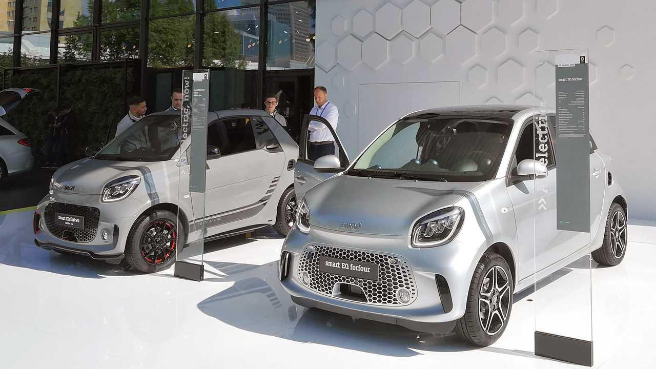 IAA 2019 - Elektroautos: Smart Fortwo/Forfour EQ