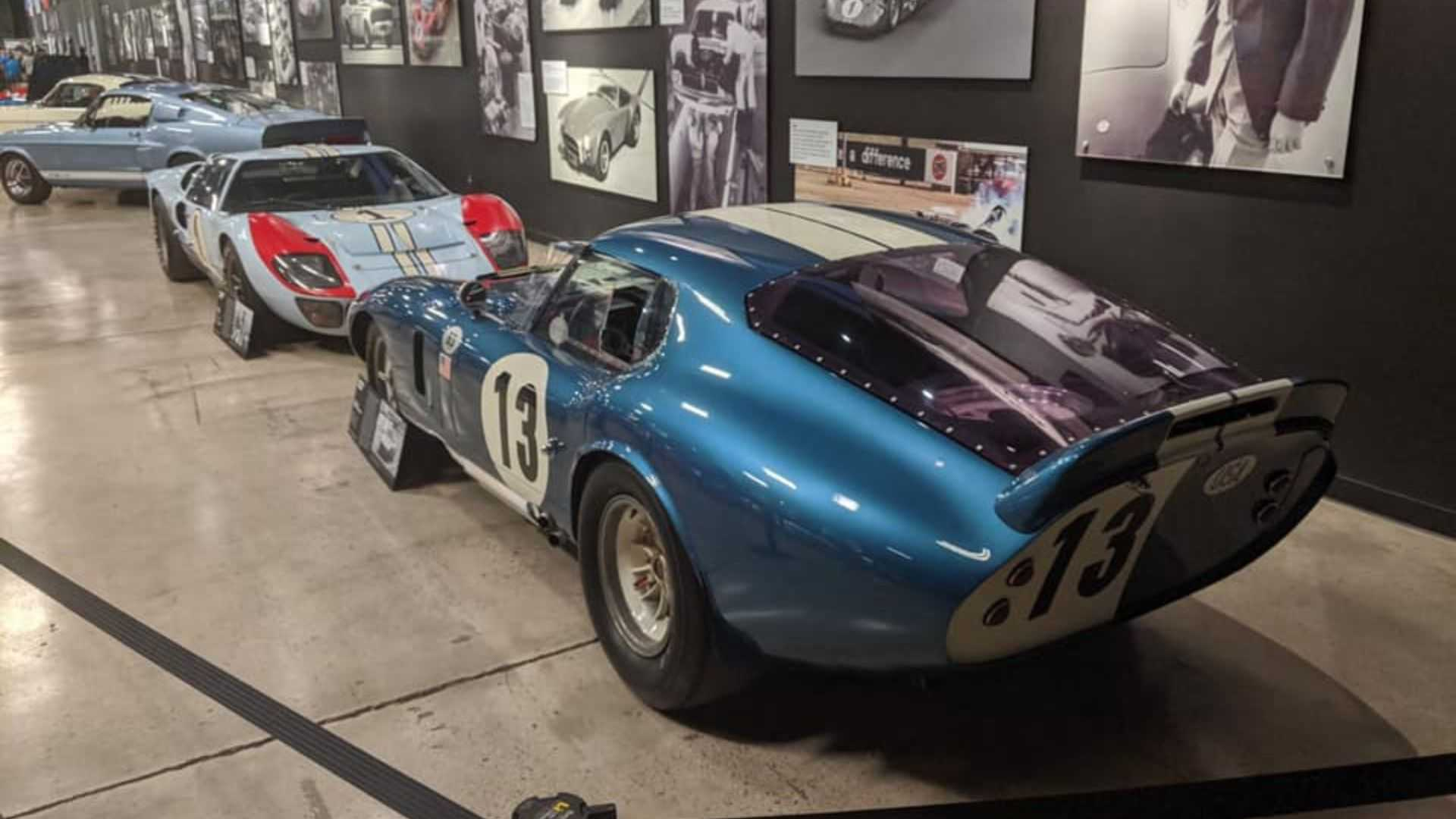 "[""Shelby American Celebrates Ford V Ferrari In Style""]"