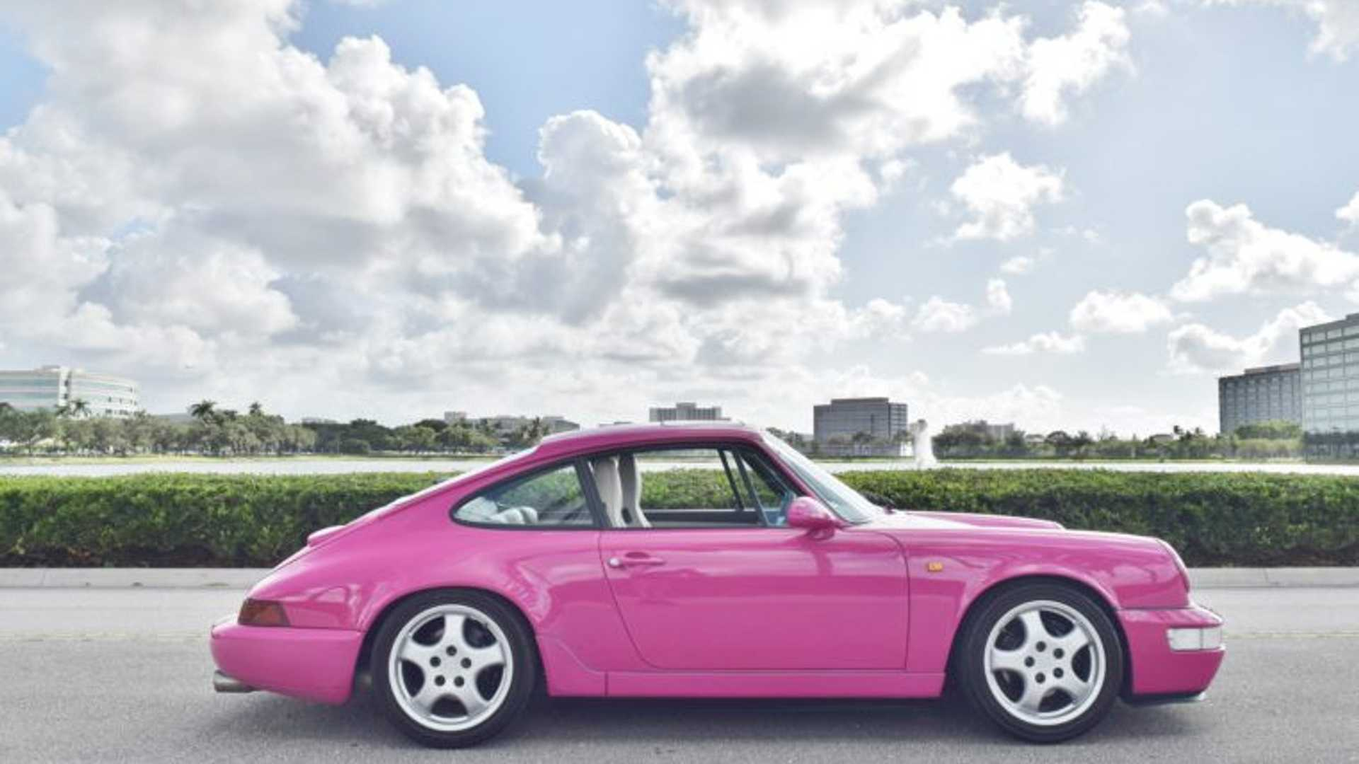 """[""""Would You Buy A Pink Porsche 911 For $105K?""""]"""