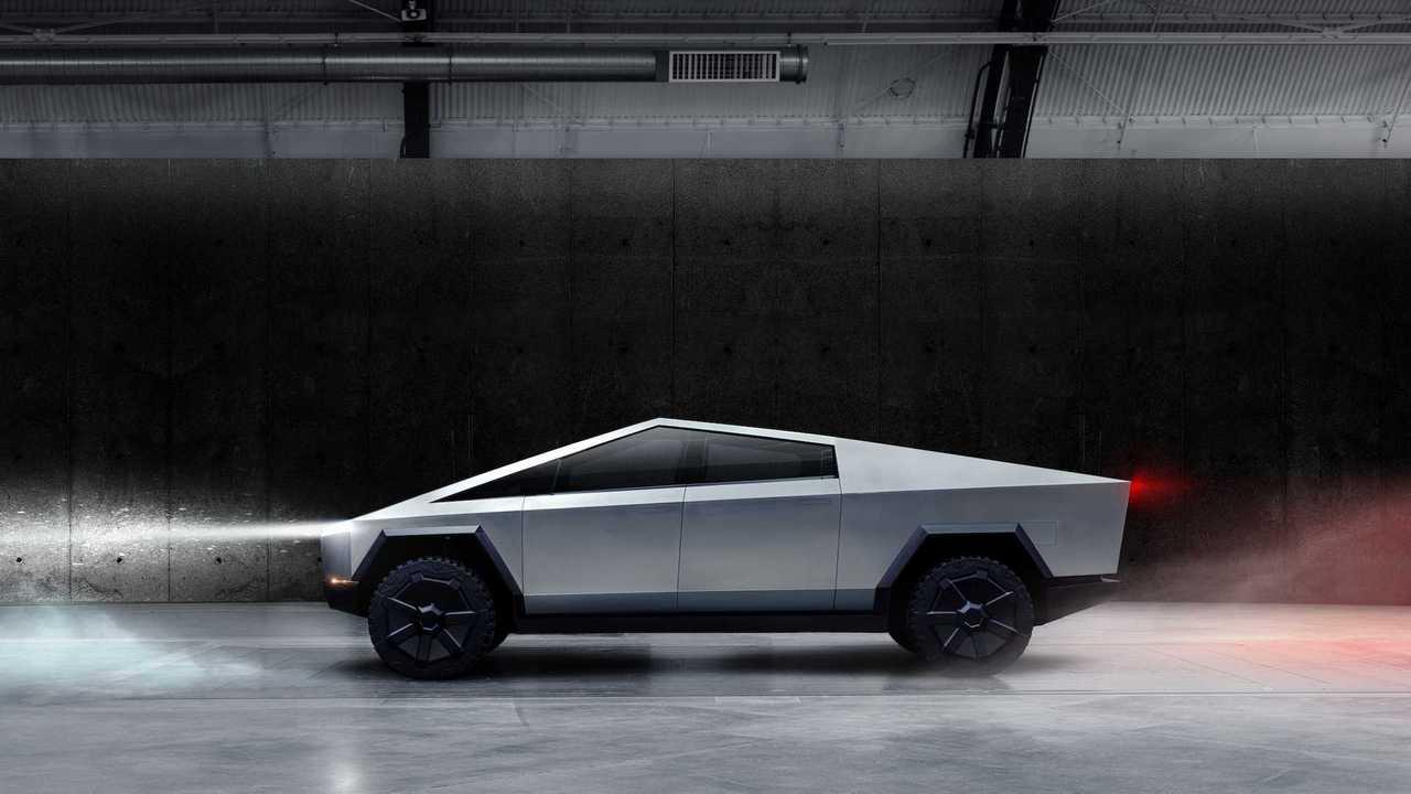 Imagem oficial do Tesla Cybertruck