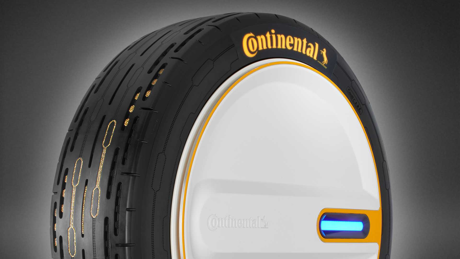 This amazing tyre can adjust its pressure on the fly to save fuel