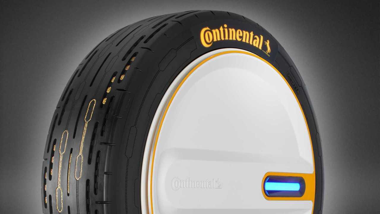 Continental'in Kendi Basınçlarını Ayarlayabilen Yeni Lastikleri