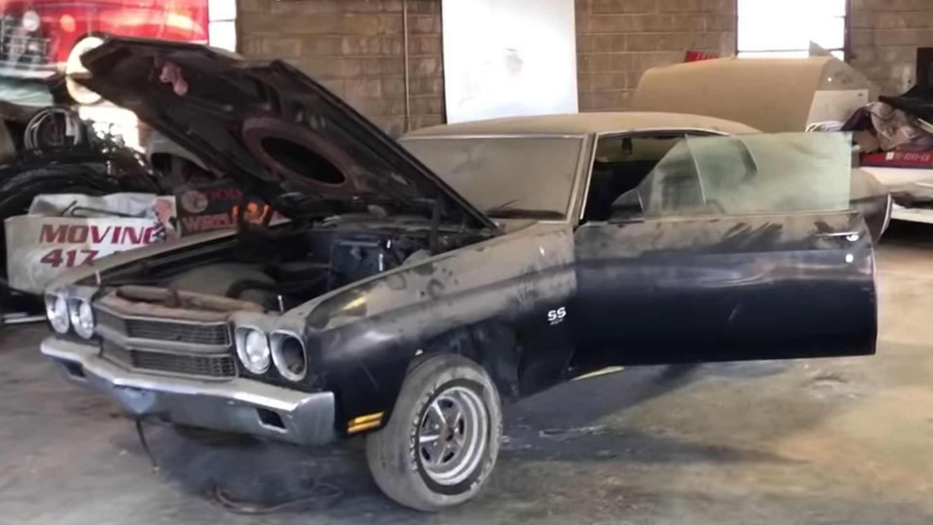 Watch A 1970 Chevy Chevelle LS6 Barn Find