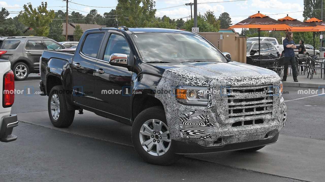 Chevrolet Colorado, GMC Canyon Facelift